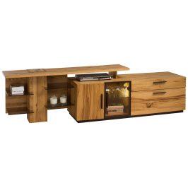 Exkluzivní nábytek Marosa TV stolek s nádstavcem levý