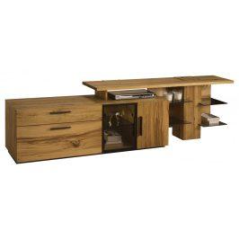 Exkluzivní nábytek Marosa TV stolek s nádstavcem pravý