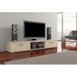 Moderní TV stolek Ariva, sonoma
