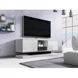 Moderní TV stolek Varmen, bílý