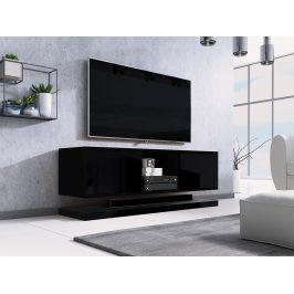 Moderní TV stolek Varmen, černý