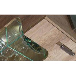 Dolmar Meble Televizní stolek ROMERO R3 P Dolmar 120/50,5/46