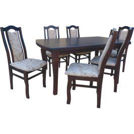 Swierczynski Rozkládací jídelní stůl NEPTUN 140x80 + 2x35