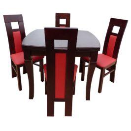 Swierczynski Rozkládací jídelní stůl NEPTUN 100x100 + 2x50