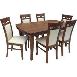 Swierczynski Rozkládací jídelní stůl NEPTUN 100x100 + 4x50