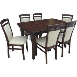 Swierczynski Rozkládací jídelní stůl NEPTUN 160x90 + 2x40