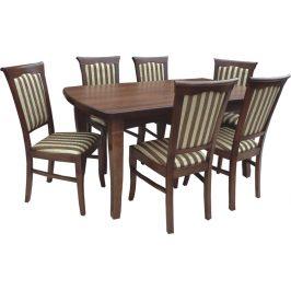Swierczynski Rozkládací jídelní stůl NEPTUN 120x100 + 4x50
