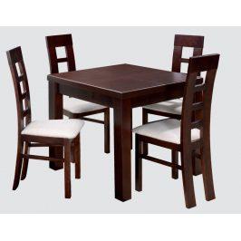 Swierczynski Rozkládací jídelní stůl MARS 90x90 + 4x50