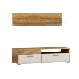 Piasky Televizní stolek 125 s poličkou LUIGI