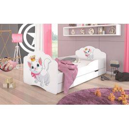 Adrk Dětská postel CASIMO KOŤÁTKO s úložným prostorem Adrk 88/63/164