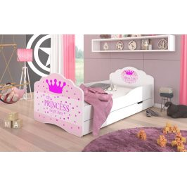 Adrk Dětská postel CASIMO PRINCESS s úložným prostorem Adrk 88/63/164
