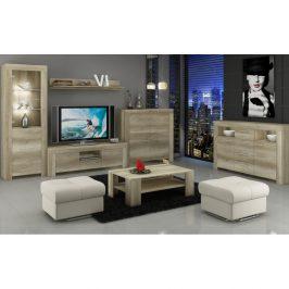 Piasky Televizní stolek s poličkou SKY