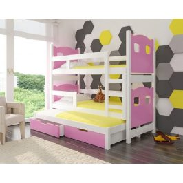Adrk Patrová postel s přistýlkou LETICIA Adrk 81/160/188