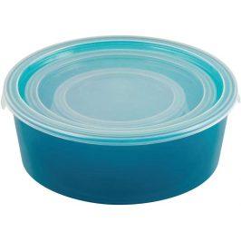 Curver Set dóz DECO CHEF 3ks - modrá