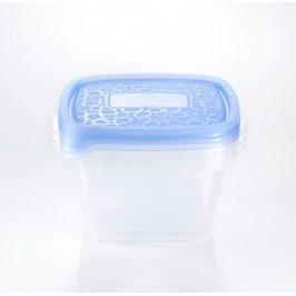 Curver Set dóz TAKE AWAY 3x1,1L - modrý Úložné boxy