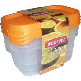 Curver Set dóz TAKE AWAY FOODK 3x0,5L - MIX
