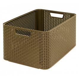 Curver Box STYLE - L - kávový Úložné boxy