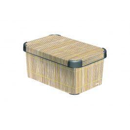 Curver Box DECOBOX - S - Bamboo Úložné boxy