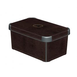 Curver Box DECOBOX - S - LEATHER