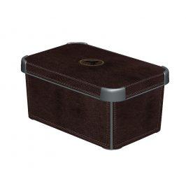 Curver Box DECOBOX - S - LEATHER Úložné boxy