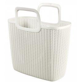 Curver Nákupní taška KNIT - krémová