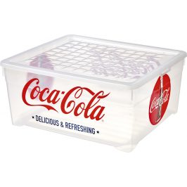 Curver Box TEXTILE -10L - COCA COLA