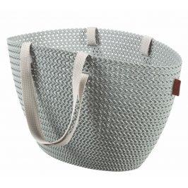 Curver Bag EMILY KNIT - šedomodrá