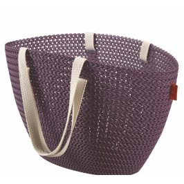 Curver Bag EMILY KNIT - fialová Úložné boxy