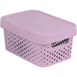 Curver Box INFINITY DOTS 4,5L - růžový