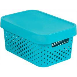 Curver Box INFINITY DOTS 4,5L - modrý