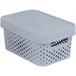 Curver Box INFINITY DOTS 4,5L - šedý