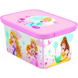 Curver Dětský úložný box DECOBOX - S - PRINCESS