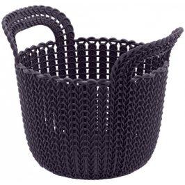 Curver Košík KNIT KULATÝ 3L - fialový