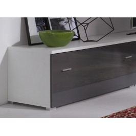 Falco TV stolek Wenecja R5 bílá/grafit lesk