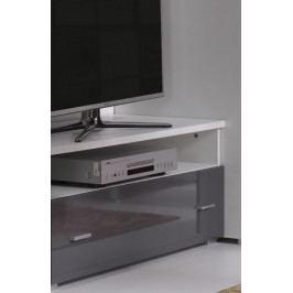 Falco TV stolek Wenecja R6 - bílá/grafit lesk