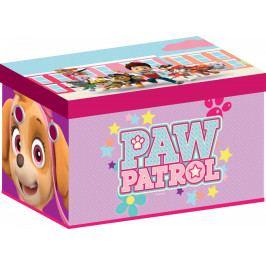 Forclaire Dětská látková truhla Tlapková patrola