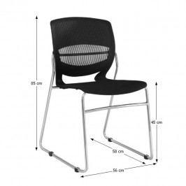 Tempo Kondela Konferenční židle IMENA - černá