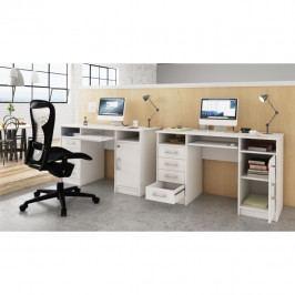 Tempo Kondela PC stolek B9 NEW - bílá Psací stoly