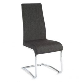 Tempo Kondela Jídelní židle AMINA - tmavě šedá