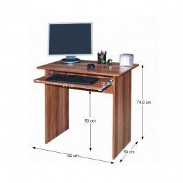 Tempo Kondela PC stůl VERNER - švestka