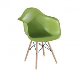 Tempo Kondela Jídelní židle DAMEN NEW - zelená