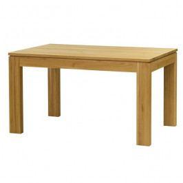 Stima Jídelní stůl DM 016 dub masiv - rozkládací 140x90 cm/+60 cm rozklad