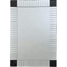 Tempo Kondela Zrcadlo ELISON TYP 3 - stříbrná/černá