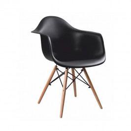 Tempo Kondela Křeslo DAMEN NEW - černá Židle do kuchyně