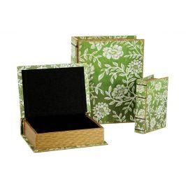 Autronic Krabička ve tvaru knihy, sada 3 kusy - FK3005