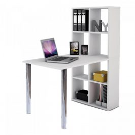 Idea PC stůl s knihovnou Lexington
