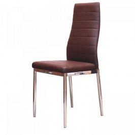 Idea Jídelní židle MILÁNO hnědá