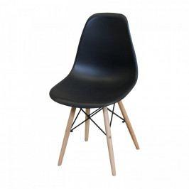 Idea Jídelní židle UNO černá Židle do kuchyně