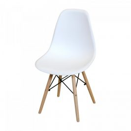 Idea Jídelní židle UNO bílá