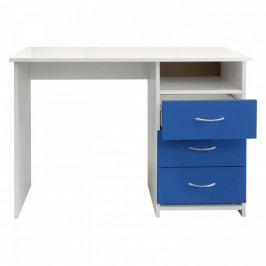 Idea Psací stůl 44 modrá/bílá